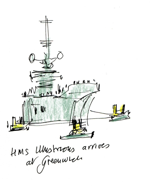 HMS Illustrious 1a