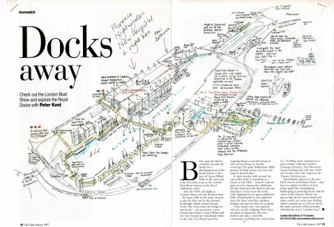 Riverwatch Docks away